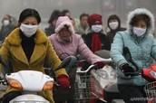 La consequencia de la contaminacion del aire