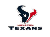 The logo of the texans