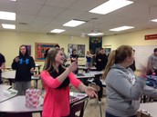 Spanish 1 does the Macarena