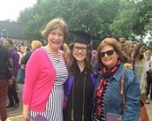 My family at graduation