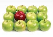 ¿Por qué morder la manzana?
