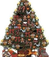 France Christmas tree
