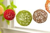 Easy String Decoration Spheres