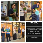 Teacher of the Year 2016...