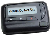 Please Do Not Use the Pager ~ Email Instead