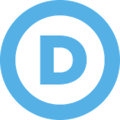 Democratic Party Sign