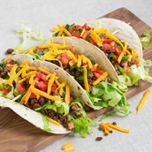 3 Spicy Beef Taco's