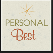 Personal Best Week May 18-22
