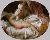 La camicia levata, Fragonard, 1770