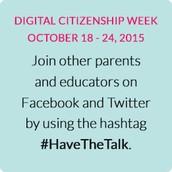 Digital Citizenship Week, October 19 - 23