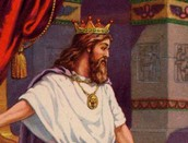 תמונת דוד בתפקידו כמלך.