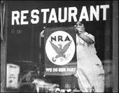 A business advertising the NRA.