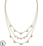 Pave Chevron Necklace Sale $60 Reg. 79