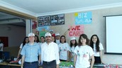 Maths in English E-twinning Project is ready for Science Fair