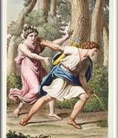 Narcissus rejects Echo's love