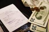 Splitting a bill at a restaurant