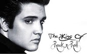 Elvis was known as the king of rock and roll