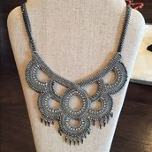 Tallulah bib necklace $50