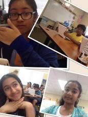Ishani,Maryam,Sanaz,& Vedu