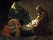 Anne-Louis Girodet-Trioson : Atala au tombeau