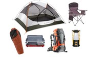 basic camping items