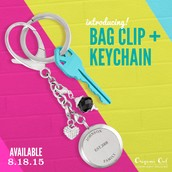 Bag Clip or Keychain