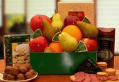 Classic Selections Fruit and Cheese Gift Box