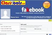Fakebook by ClassTools.net
