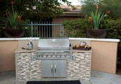 Coming Soon!! New Outdoor Kitchen Pool Side!