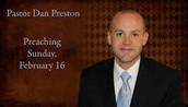 Pastor Dan Preston