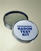 How are radon levels determined?