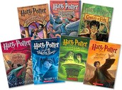 The entire Harry Potter series by J.K. Rowling