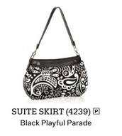Suite Skirt - Black Playful Parade