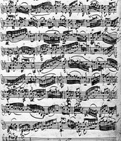 Bach's Music Sheets