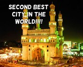 SECOND BEST TOURISTIC CITY IN THE WORLD!!!