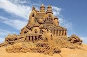 el castillo de arena