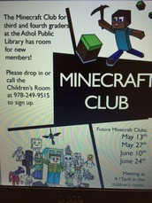 Mine Craft Club
