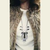Eclipse Pendant Necklace - SOLD