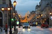 Versailles' streets