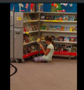 Pic 1: Book Fair fun!