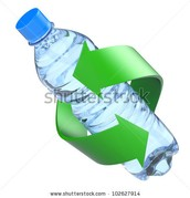 Let's recycle plastic bottles