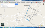 how to get from the Armenia estelar hotel to the University of quindio