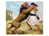 הנה אני מחסל את האריה במו ידי!