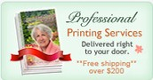 Our Printing Services......