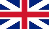 Inglés bandera