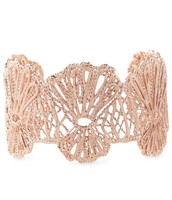 Geneve Lace Cuff-Rose Gold