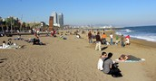 Barcelona is consdered the best beach in the city!!!!! AMAZING RIGHT
