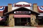 April 1st - Spring Creek Barbecue