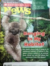 Scholastic News: Habitats