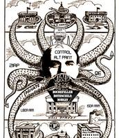 Federal Reserve Political Cartoon
